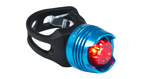 RFR Diamond etuvalo red LED , sininen/musta